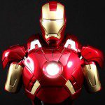 Limited Edition IRON MAN 3 Iron Man Mark VII 1:4 Scale Bust (Hot Toys)