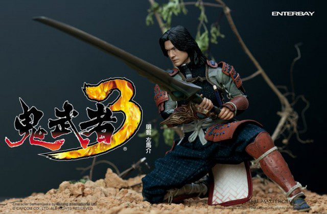 Onimusha 3 Akechi Hidemitsu Real Masterpiece Action Figure ENTERBAY