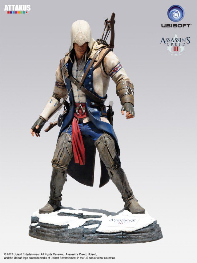 ASSASSINS CREED 3 Life Size Statue Attakus (1)