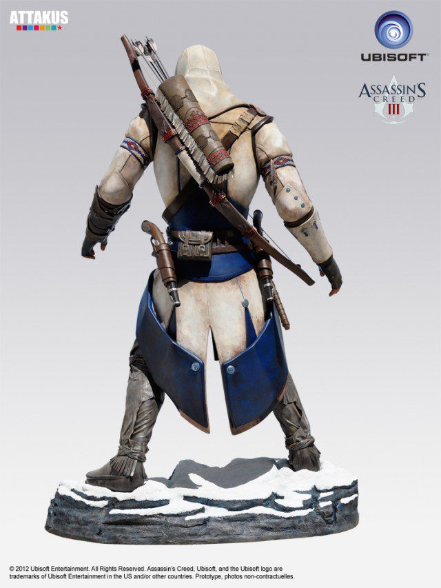 ASSASSINS CREED 3 Life Size Statue Attakus (2)