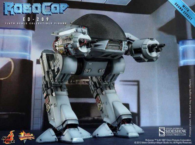 ED-209 Sixth Scale Figure Hot Toys