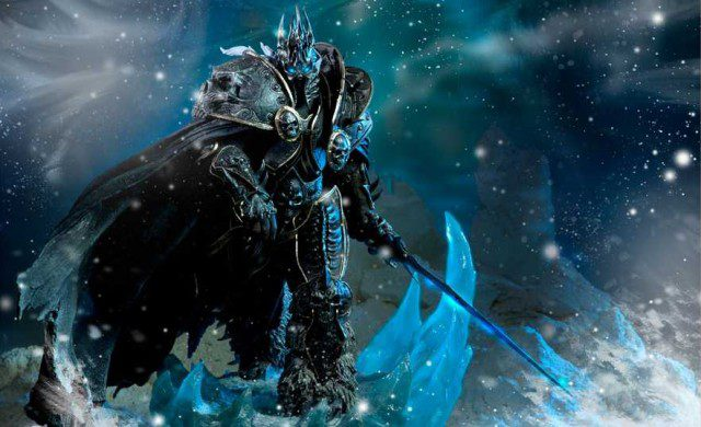 Limited Edition WORLD OF WARCRAFT Arthas Polystone Statue