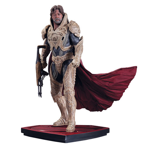 MAN OF STEEL Jor-El Sixth Scale Statue DC Collectibles