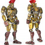 REAL STEEL Midas Robot Sixth Scale Action Figure (ThreeA)