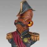 Limited Edition Gentle Giant STAR WARS Admiral Ackbar Magnitude Mini Bust (SDCC 2013 Exclusive)