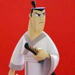 Limited Edition SAMURAI JACK 9″ Animation Maquette and Aku 12″ Animation Maquette (Cartoon Network Collection)
