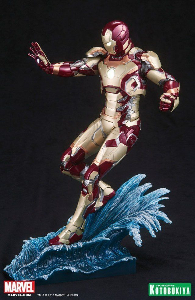 IRON MAN 3 Mark XLII ArtFX 1-6 Scale Statue Kotobukiya