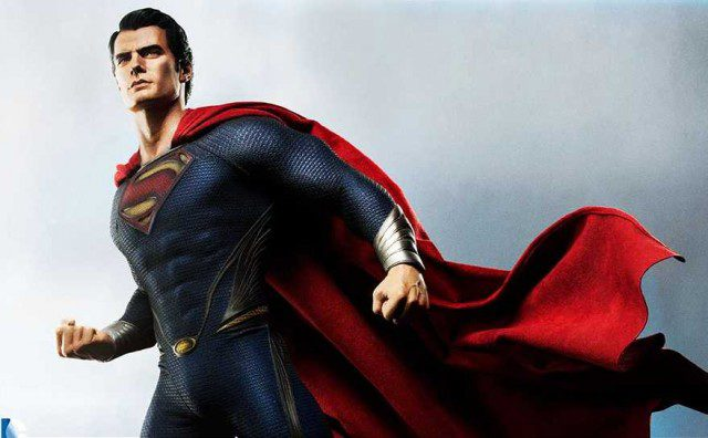 MAN OF STEEL Superman 1-4 Scale Premium Format Figure Sideshow Collectibles