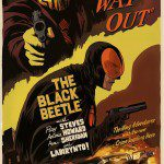 Limited Edition Mondo THE BLACK BEETLE Poster by Francesco Francavilla