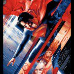 Limited Edition Mondo MAN OF STEEL Poster by Martin Ansin