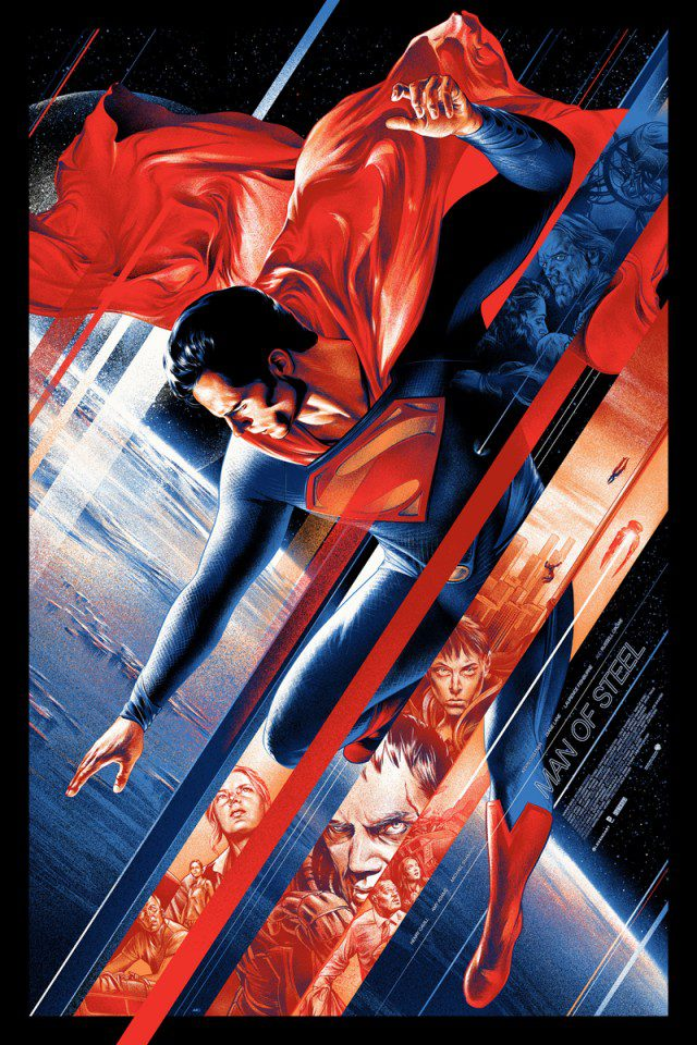 martin ansin mondo man of steel poster