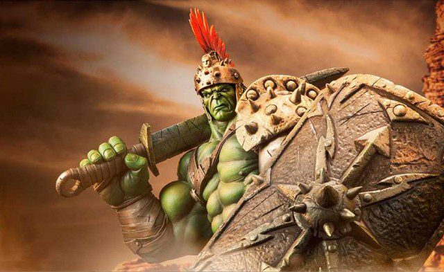 Gladiator Hulk Premium Format Figure Sideshow Collectibles