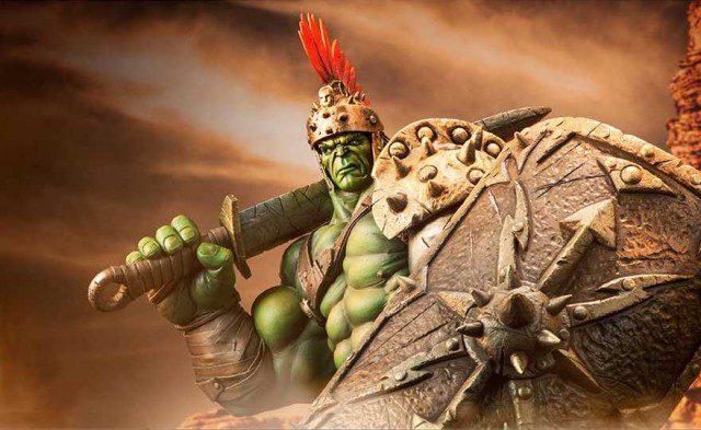 Gladiator Hulk Premium Format Figure Sideshow Collectibles