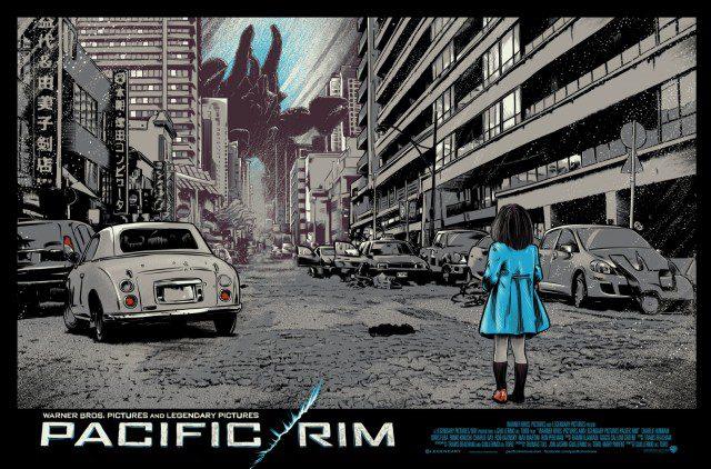 James Fosdike Regular PACIFIC RIM Poster